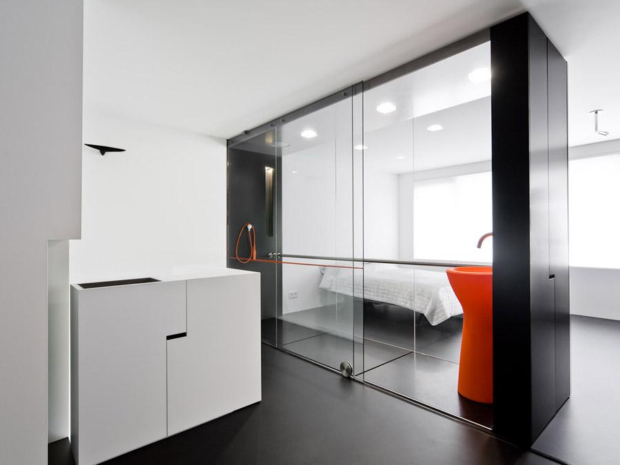 Deze badkamer werd genomineerd voor de Badkamer Design Awards in 2008.